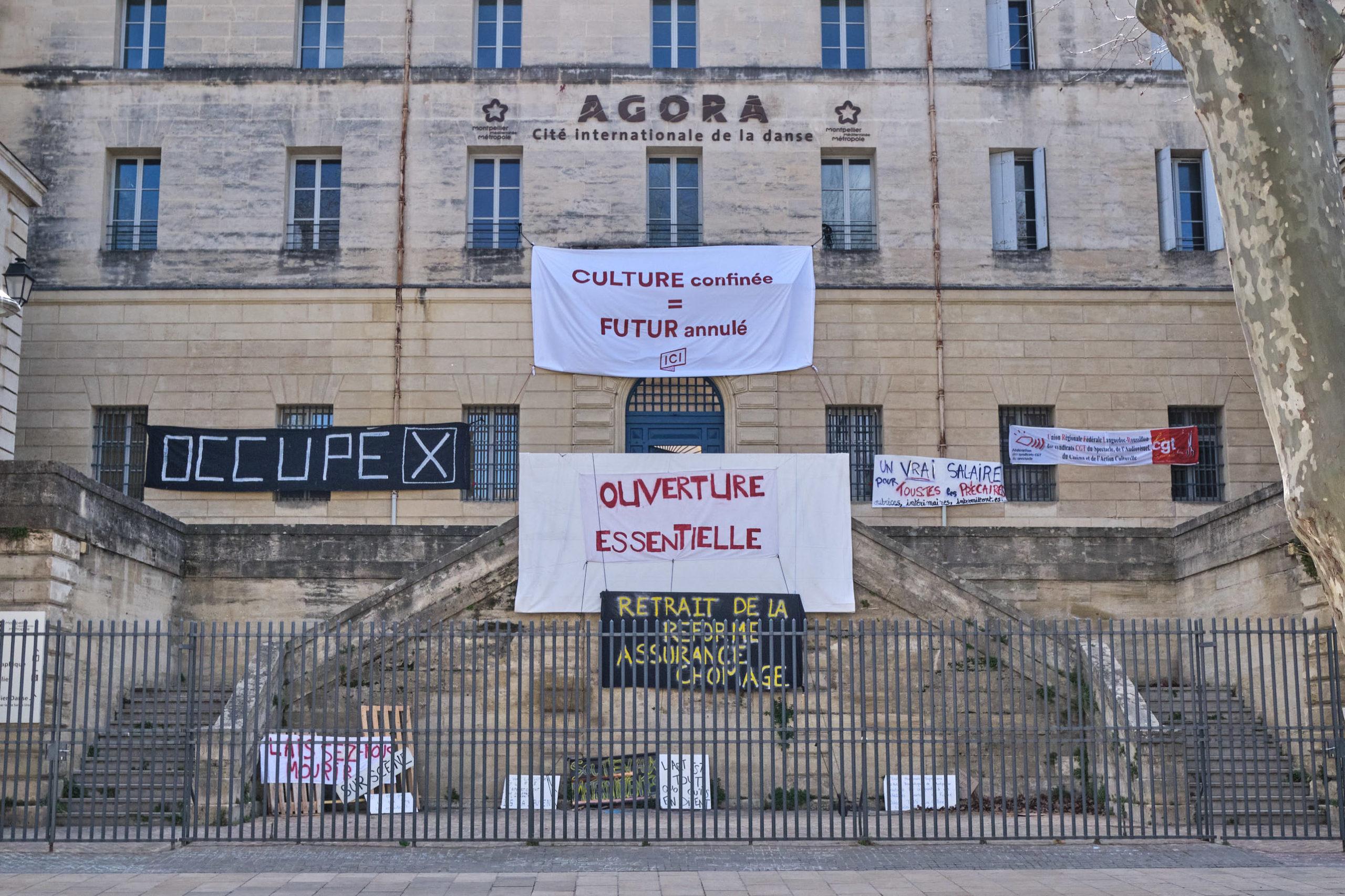 Occupation du CCN de Montpellier : semaine 1